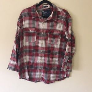 American Eagle Athletic Fit 100% Cotton Flannel